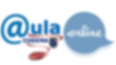 LOGO AULA ON LINE 2020 con insignia.png