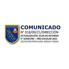COMUNICADO N° 018