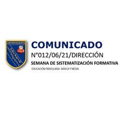 COMUNICADO N°012