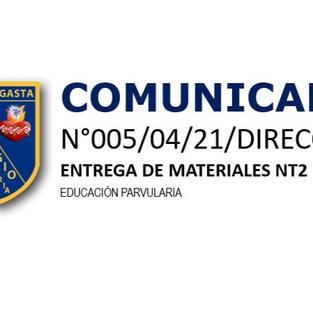 COMUNICADO N°005