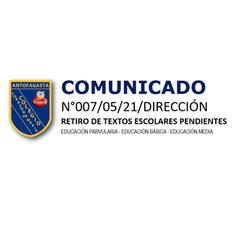 COMUNICADO N°007