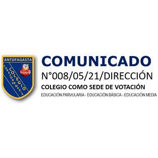 COMUNICADO N°008