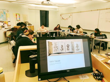Arts Programming - Tiny Tales Workshop
