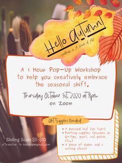 Hello Autumn! Virtual Workshop