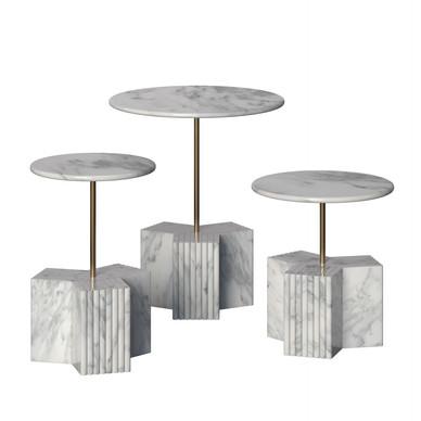 Small Coffe Table Cloud Trio