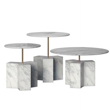 Big Coffe Table Brick Trio