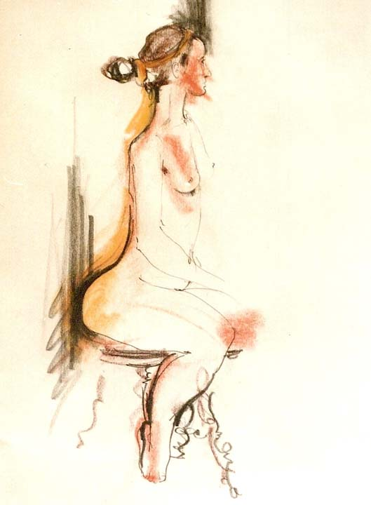 Female Nude, 1992