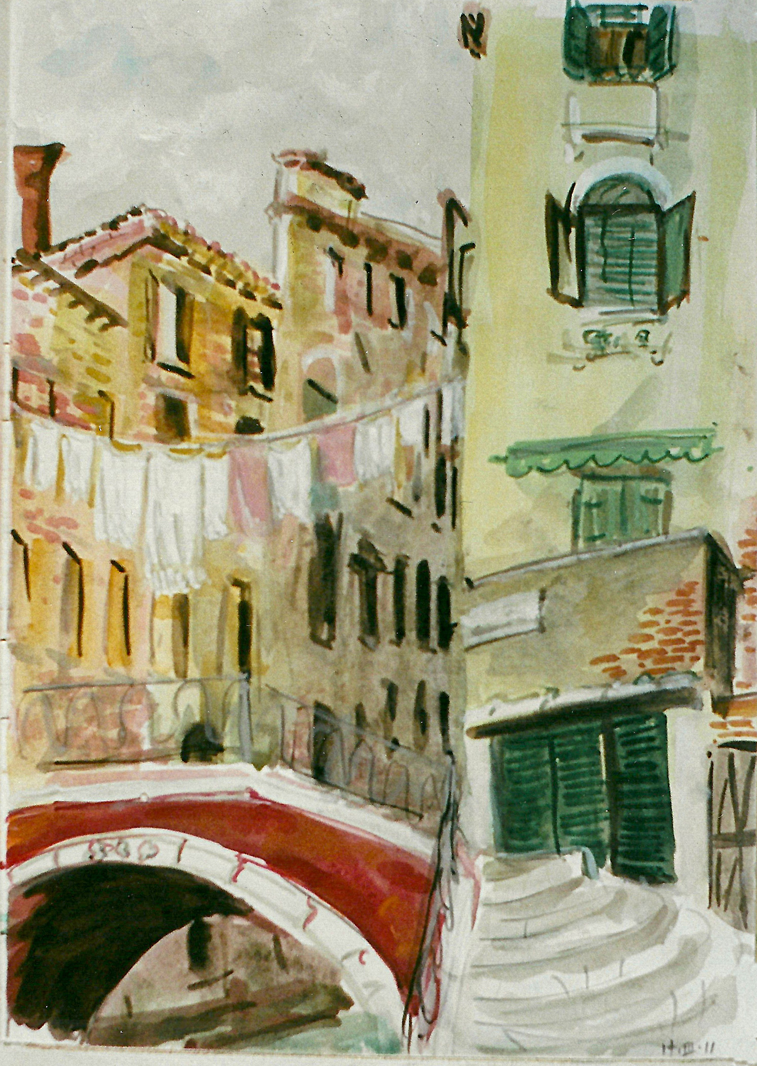 Laundry, Venice 2011