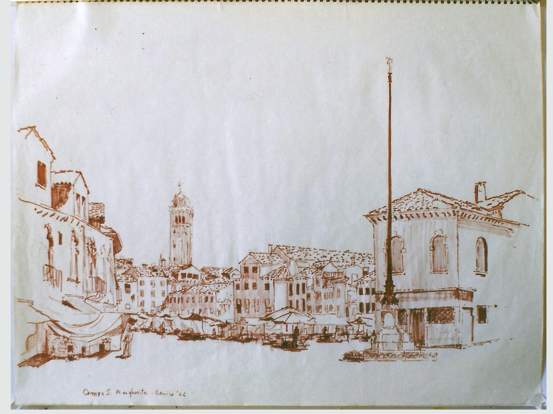 Campo San Margherita 1966
