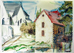 Mill and Church, Concremiers 1997