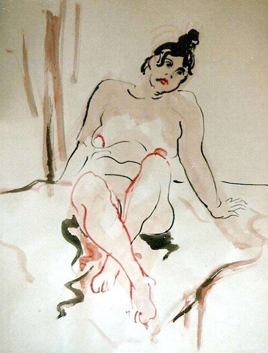 Female Nude 1992
