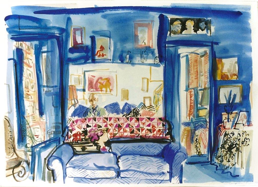 Sondra's Blue Room 1992