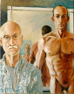 Self Portrait with Geoffrey 2006