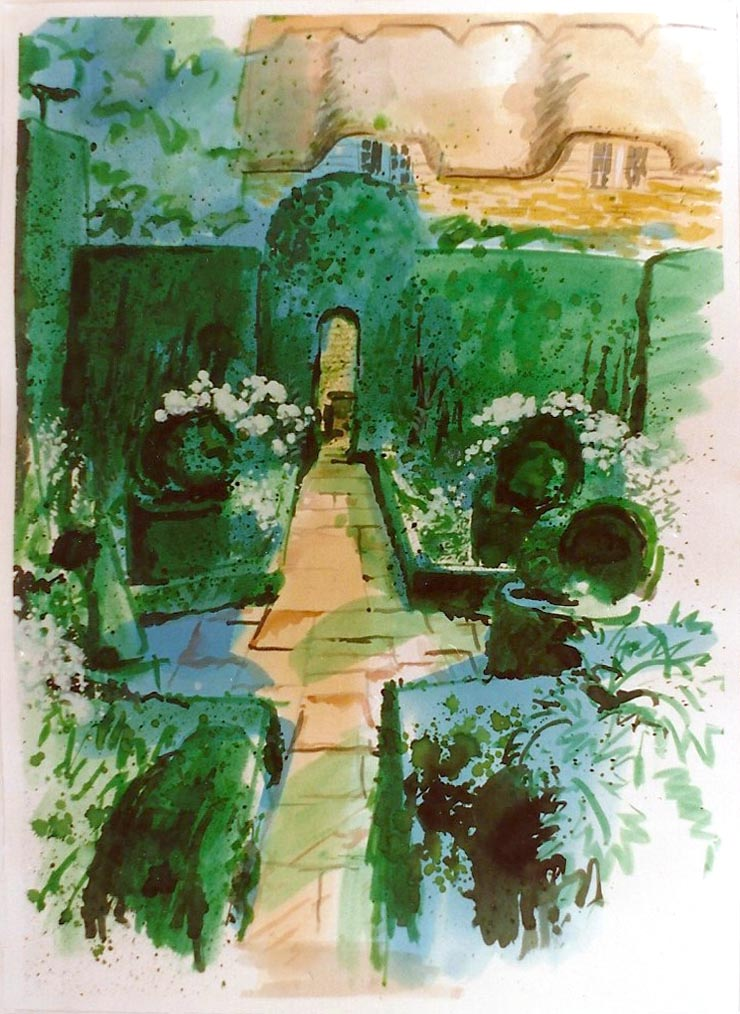 The White Garden, Hidcote 1991