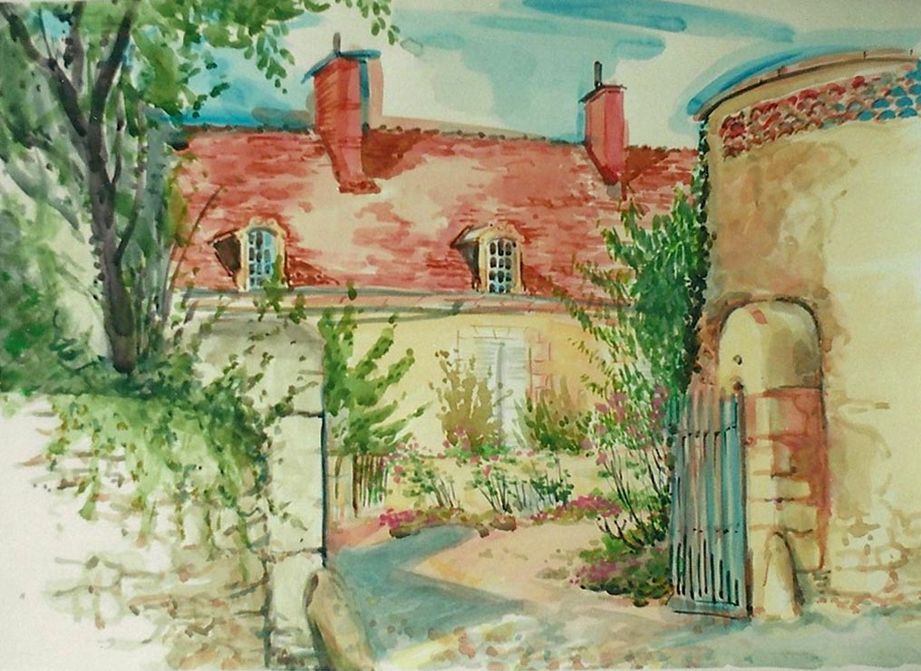 18th C, Farmhouse, Concremiers 2000