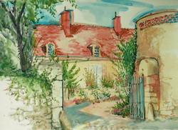 18th C, Farmhouse, Concremiers 2000