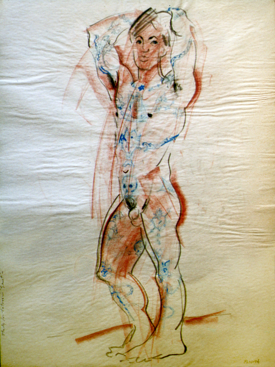 Study of Tattoos 1994