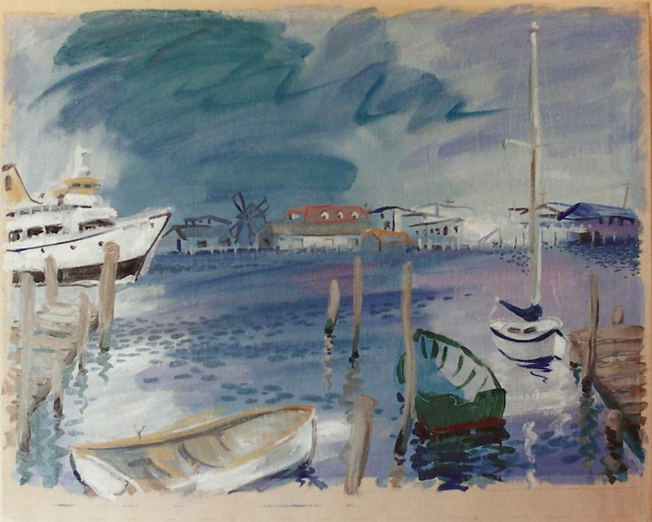 Galilee Harbor, RI 1990