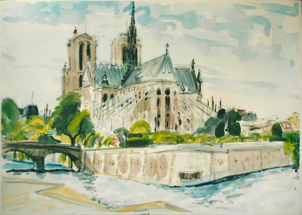Notre Dame, Paris 2001