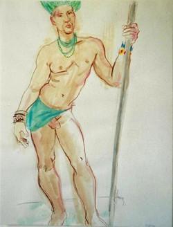 Costumed Nude 2011