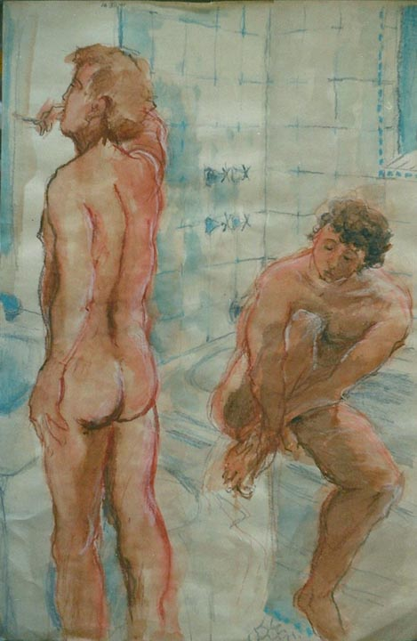 """Study for """"Sharing"""" 2001"""