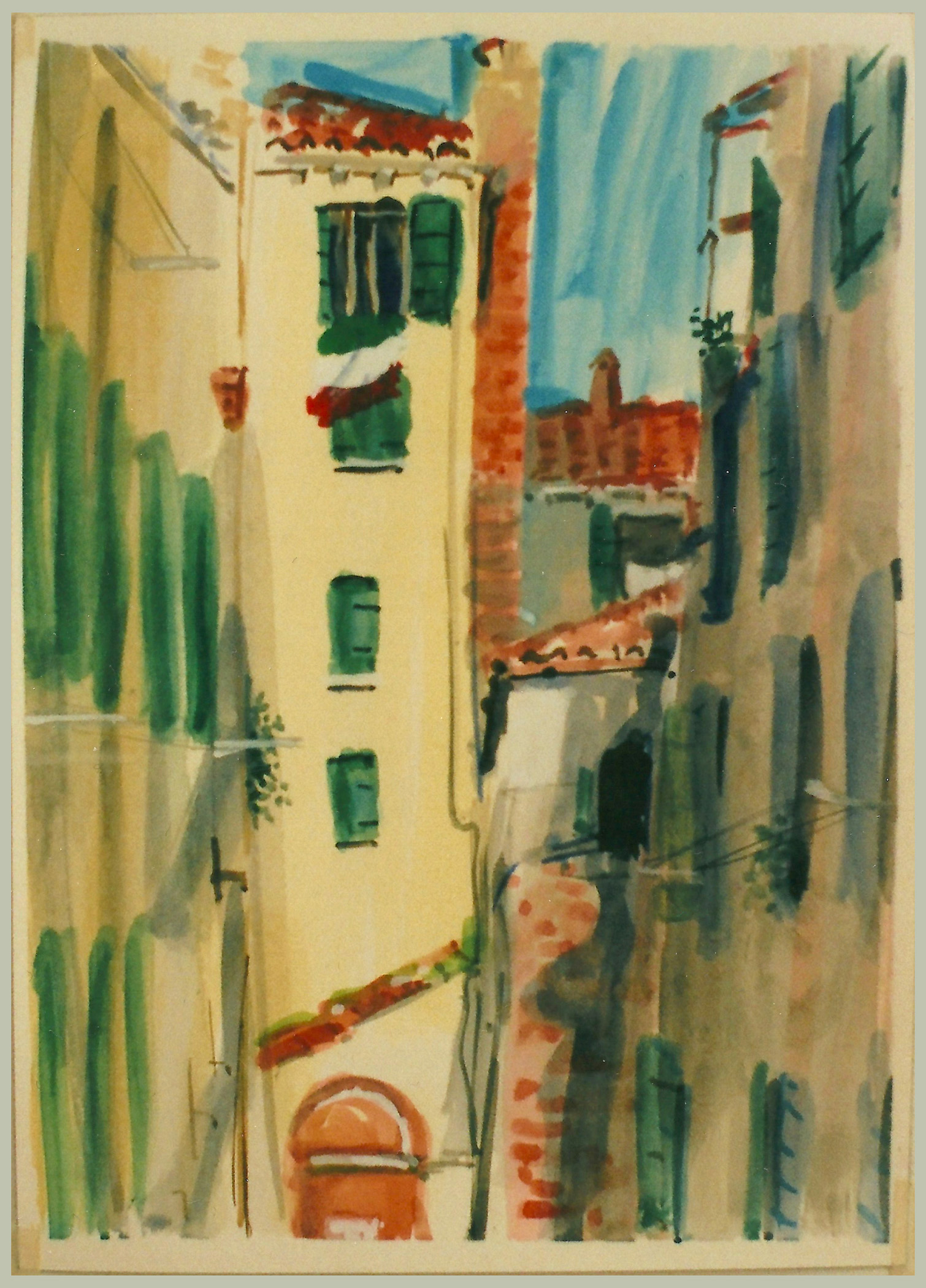 View From Studio, Venice 2011