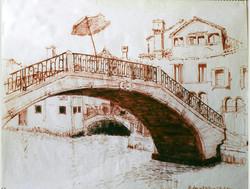 Bridge into Campo S. Pantelone 1966