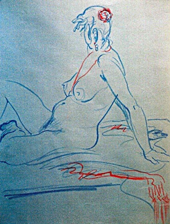 Blue Nude 1999