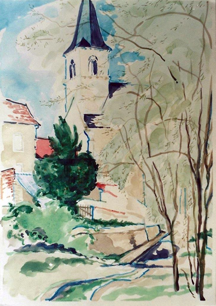 Concremiers Church 1999