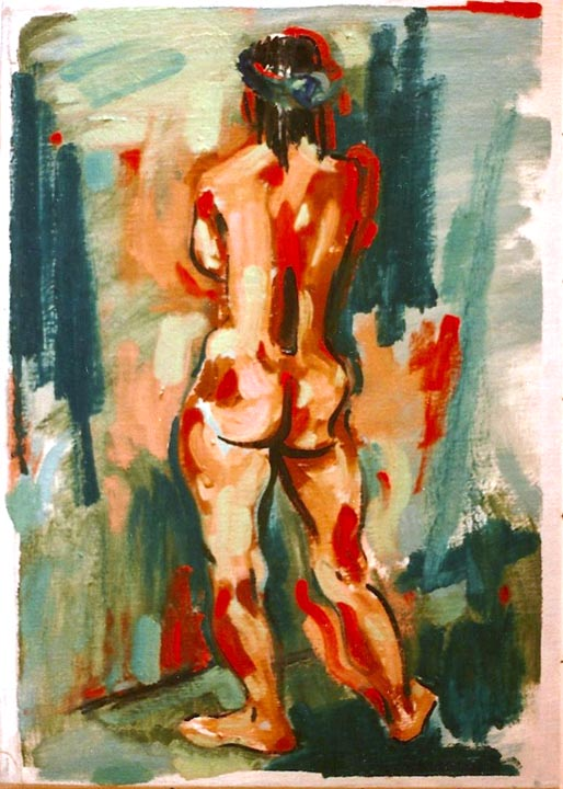 Female Nude 1989