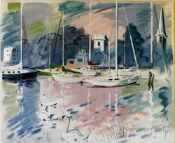 Wickford Harbor, RI 1992