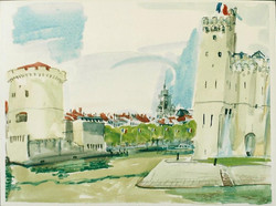 Old Harbor Entrance,La Rochelle 2002