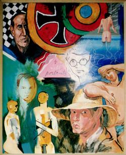 Four Self-Portraits 1993