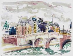 Vert Galant et Pont Neuf, Paris 2002