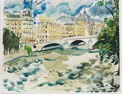 Quai Voltaire Pont Royal, Paris 2002