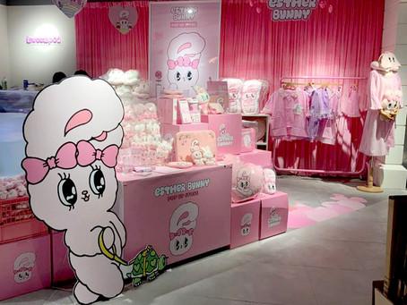 에스더버니 신세계백화점 팝업스토어 !!