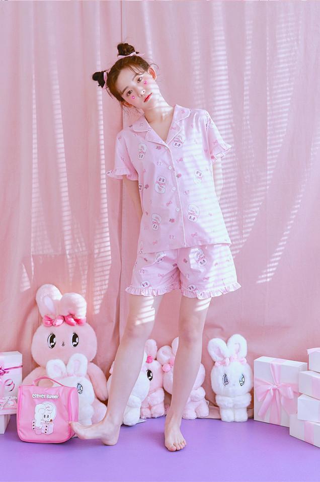 하트버니 반팔페어 핑크 [2020' 02]