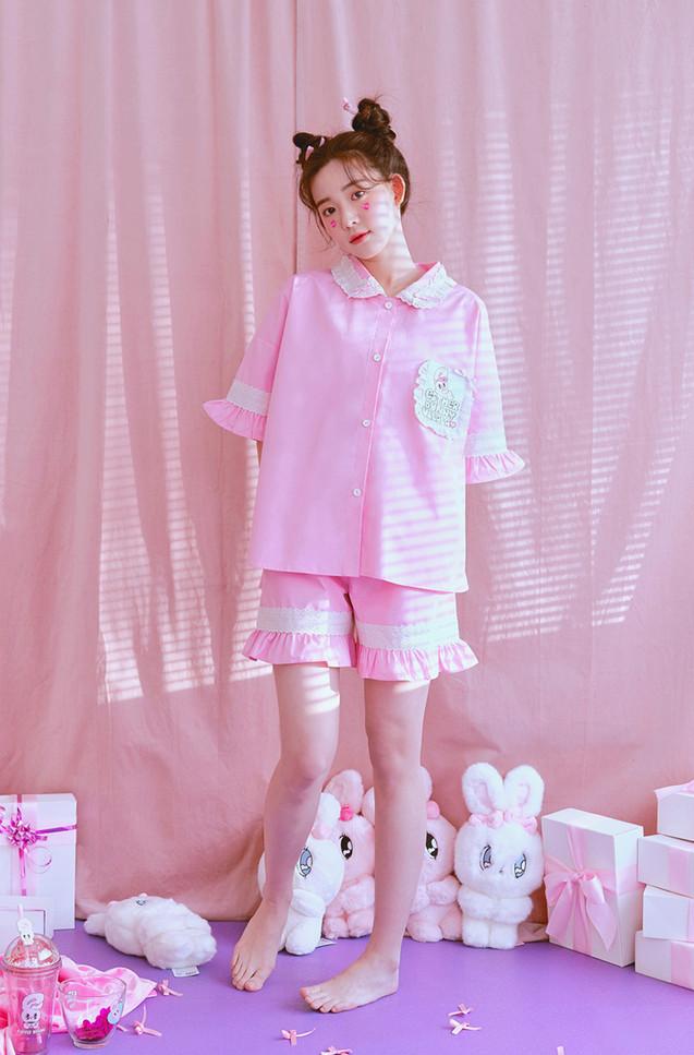 달달버니 반팔페어 핑크 [2020' 02]