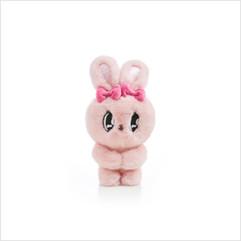 인형 가방 고리 13cm (핑크)