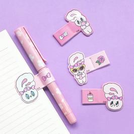 핑크 펜 홀더