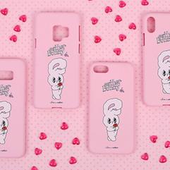 [클루] 딸기우유 젤리 핸드폰케이스