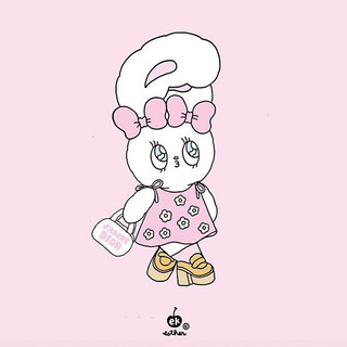 #creambunny