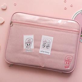 에스더 트윙클 13 노트북 파우치(핑크)
