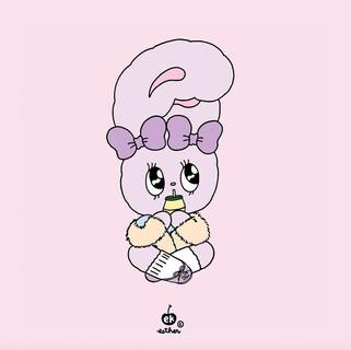 #lavenderbunny