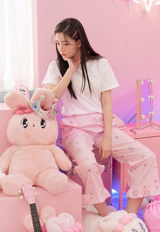 바캉스버니 긴바지 핑크 [2020' 06]