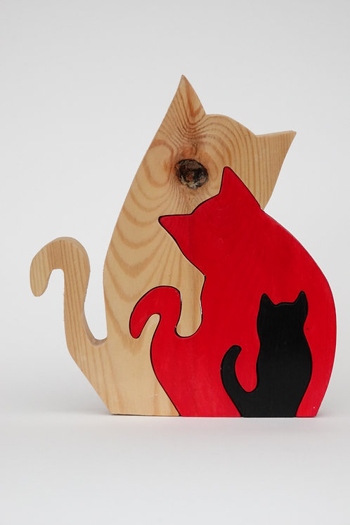 'Cat Family' Puzzle