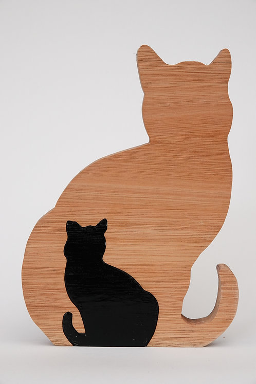 'Cat and Kitten Sitting'  Puzzle