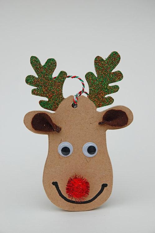 'Smiling Reindeer'