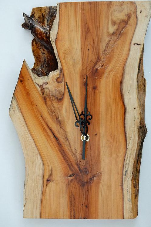 'Yew'  Wall Clock