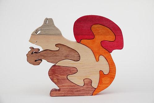 ' Wooden  Squirrel'